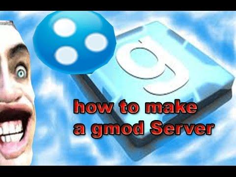 how to create a garrys mod server