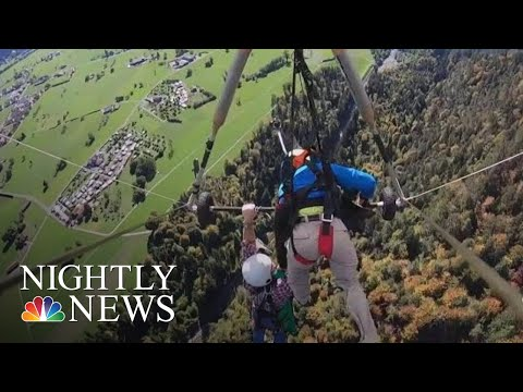 Dave Roberts - Hang Glider Escapes Death