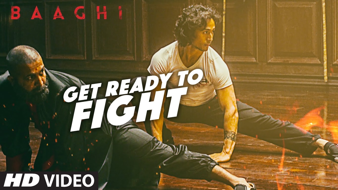 😄 😀 Get Ready To Fight Video Song | BAAGHI | Tiger Shroff
