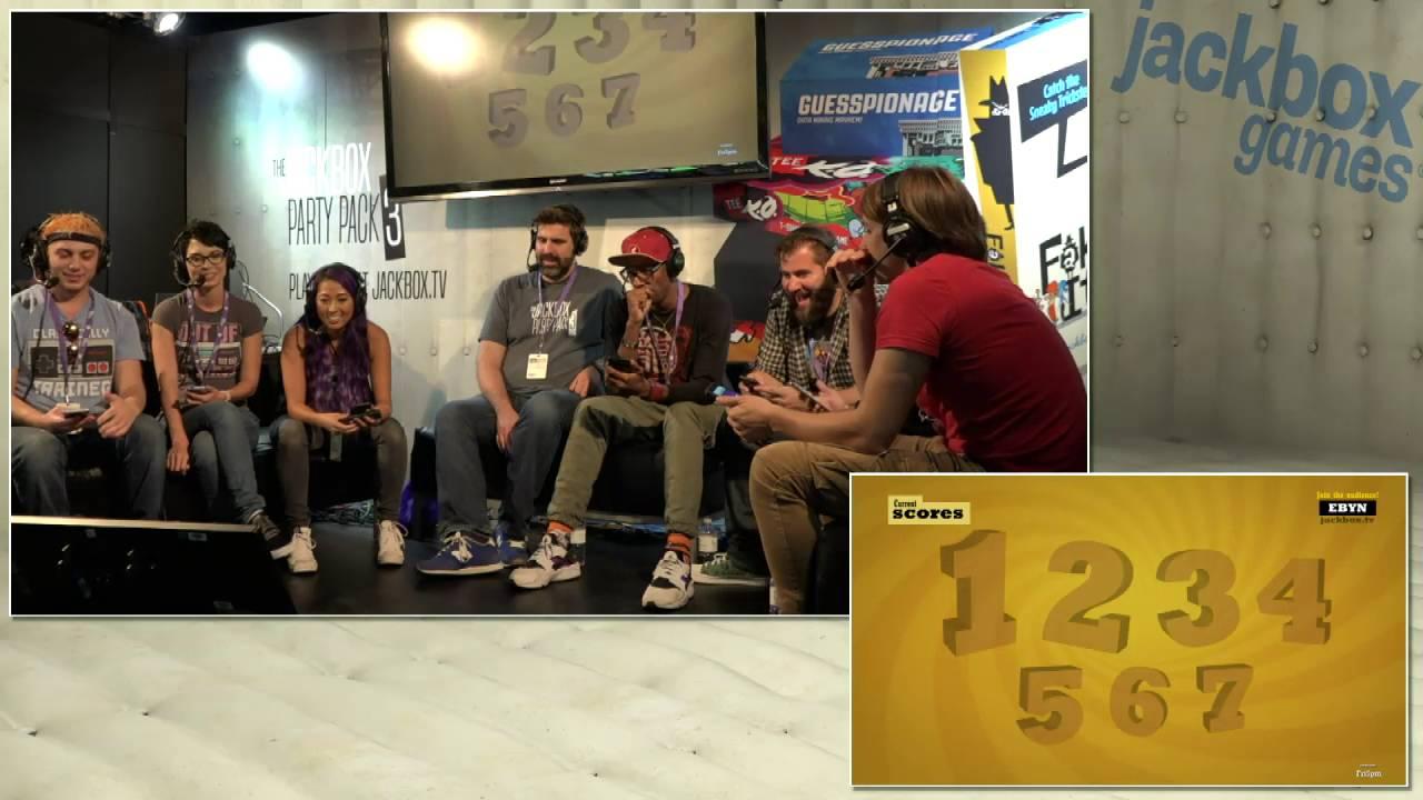 Jackbox Games @ TwitchCon w/ Smosh Games & Pamela Horton ...