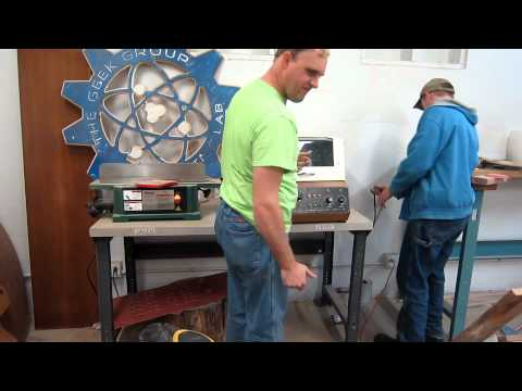 Captain's Blog 5-1-2012 Induction Heater Paint Removal and Quarter Cleaning