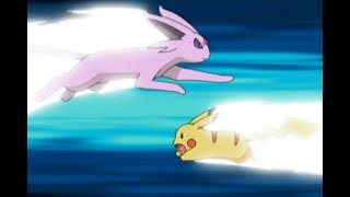 Pikachu vs. Espeon! | Pokémon: Battle Frontier