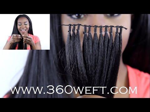 15min weave!?!?! l 360 weft