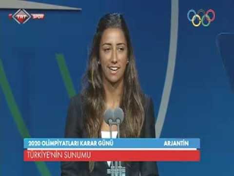 2020 Olimpiyat Oyunları İstanbul Heyetinin Sunumu / 2020 Olympic Games Presentation Of İstanbul