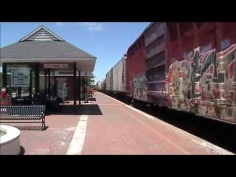 Lee's Summit Railfanning 6/3/13