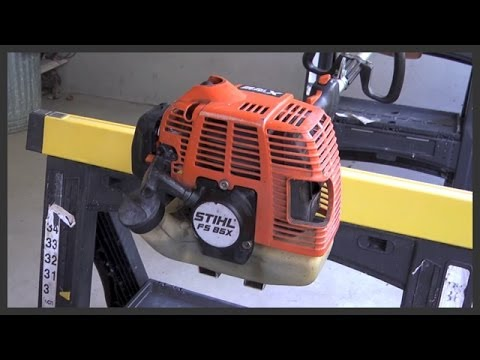 String trimmer carburetor maintenance - YouTube