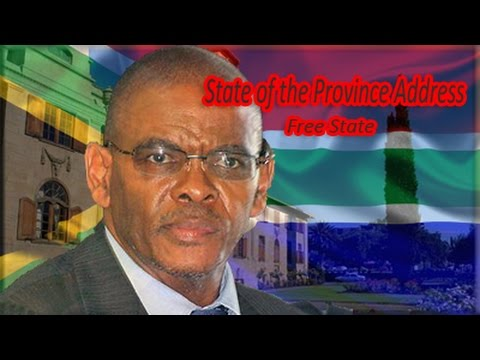 State of the Province Address: Free State, 24 February 2015