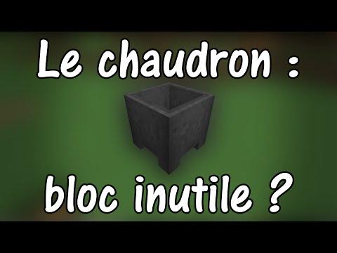 Le chaudron : bloc inutile ?