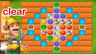 Gardenscapes - A Matching Puzzle Garden Gameplay Walkthrough Day 17 Complete(New update) screenshot 5
