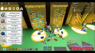 ROBLOX bee swarm simulator this is the best sever i have ever been on