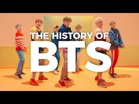 THE HISTORY OF BTS