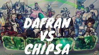 Overwatch 1 vs 1 Battle Of The Century!: Dafran Vs Chipsa