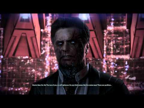 Mass Effect 3: The Illusive Man Confrontation (Paragon)