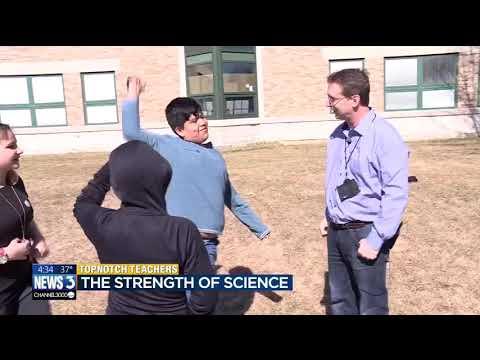 April Top-Notch Teacher: Greg Puent