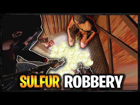 RUDE SULFUR ROBBERY a RICH MAN | Rust Raid Diary S7E4
