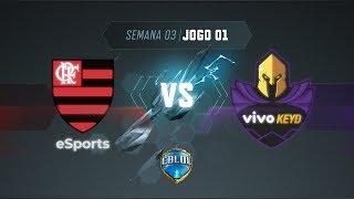 CBLoL 2019: Flamengo x Vivo Keyd (Jogo 1) | Fase de Pontos - 1ª Etapa