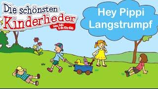 Hey Pippi Langstrumpf | Kinderlied mit Text zum mitsingen