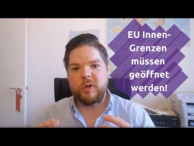 EU Binnengrenzen sofort öffnen, Petition unterschreiben