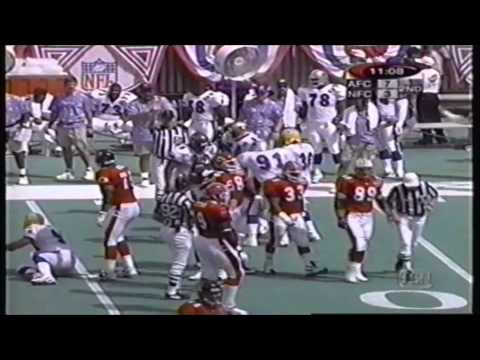 1999 NFL Pro Bowl - Footage From The 2nd Quarter