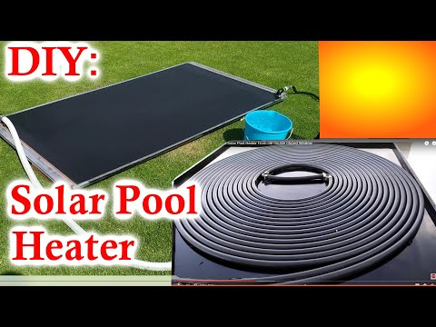 DIY Solar Pool Heater – Build A Solar Water Heater From Twin Wall Polycarbonate Sheet