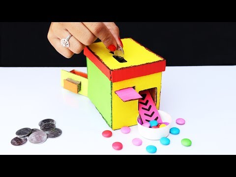 Thumbnail: DIY Money Operated Candy Machine from Cardboard