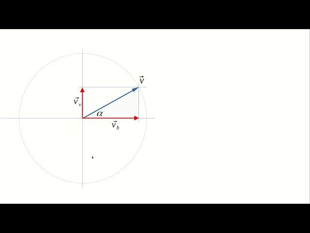 Tir oblique: simulation en langage Python (1/3)