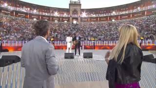 Stefan Raab und Jürgen Drews singen ein Bett im Kornfeld Wetten Dass 08.06.13