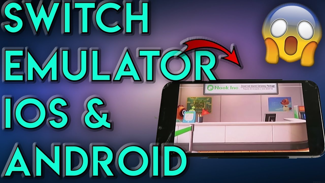 Nintendo Switch Emulator For Android Ios Play Nintendo Switch Games On Iphone Android Youtube