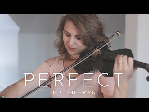 Perfect Ed Sheeran Violin Cover  - Taylor Davis