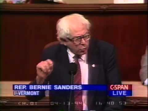 Bernie Sanders: Incarcerating a Country (4/13/1994)