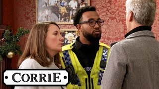 Robert Is Arrested Over Vicky's Disappearance | Coronation Street
