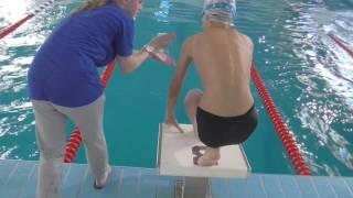 Обучение ребенка выполнению правильного прыжка с тумбы