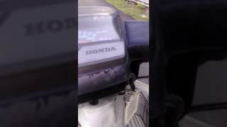#vlog 1=test moto honda ex5 high power yang meter berat