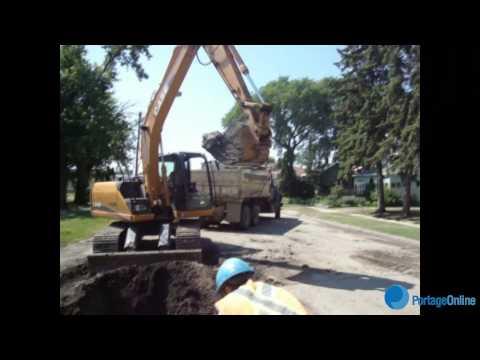 Water Main Repair. July 9th, 2012