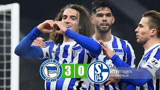 #hertha berlin #schalke 04 vs schalke  3-0 all goals & highlights 02/01/2021