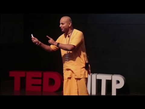 What makes life complete? | Gaur Gopal Das | TEDxMITP - YouTube
