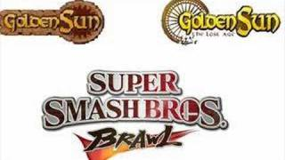 Golden Sun Music:Super Smash Bros. Brawl Remix