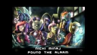 Nicki Minaj - Pound The Alarm (Megamix) [HD & Lyrics]