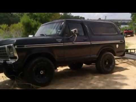 1979 ford bronco installation Body lift 3'' befor - YouTube