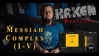 DRUMMER REACTS to HAKEN - Messiah Complex | (Reaction)