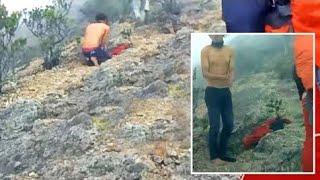 Viral!!! Video Detik-detik Sebelum Tewasnya Andi Sulistyawan di Gunung Lawu