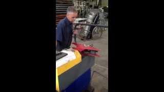 Workshop fabrication - pipe bending