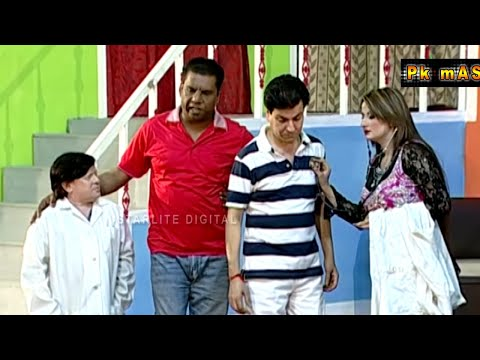 New Best of Tariq Teddy and Amanat Chan Stage Drama Full Comedy Clip