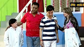 New Best of Tariq Teddy and Amanat Chan Stage Drama Full Comedy Clip | Pk Mast