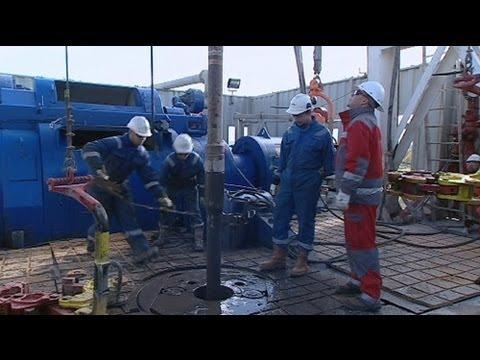 euronews reporter - Fracking in Europe