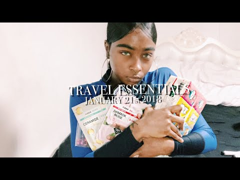 HOW TO TRAVEL ASIA | TRAVEL ESSENTIALS.. what's in my carry on?