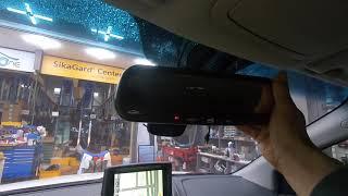 쌍용자동차 코란도C 차량에 전용 하이패스룸미러를 설치한…