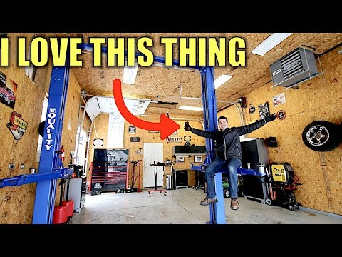 Here's How Much My Car Lift & Garage Cost + My Favorite Auto