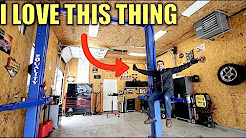 Here's How Much My Car Lift & Garage Cost + My Favorite Automotive Christmas Present.