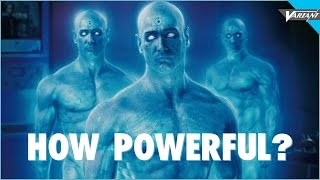 how powerful is doctor manhattan?